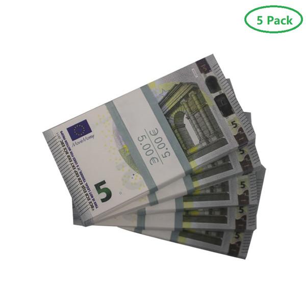 5 euros (5pack 500pcs conta)
