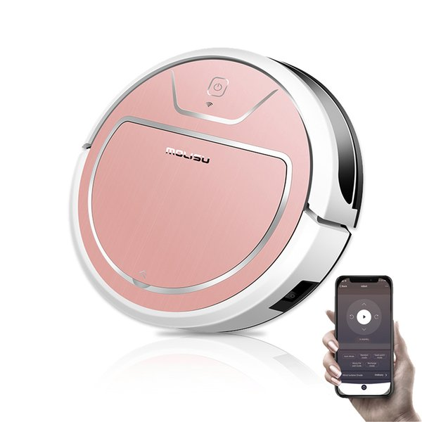 top popular MOLISU V8S PRO Robot vacuum cleaner with Sweeping and Mopping App Control 2000Pa Suction Robot Aspirador odkurzacz stofzuiger Y200320 2021