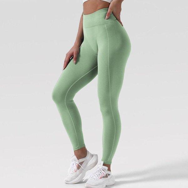 Pantalone verde chiaro