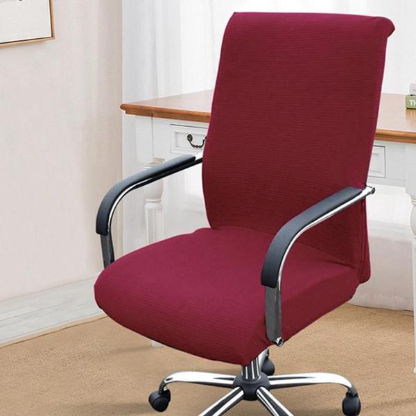 cubierta de silla roja
