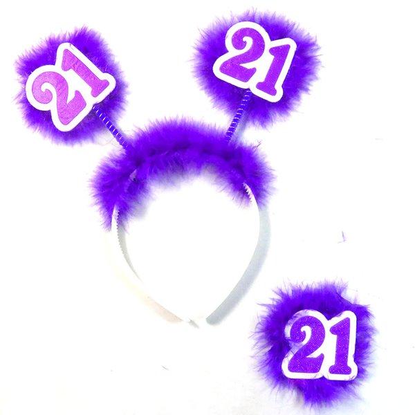6set Pur21headbandbadge