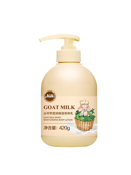 best selling FACELANDY whitening body cream for black skin goat milk body lotion black skin body whitening lotion