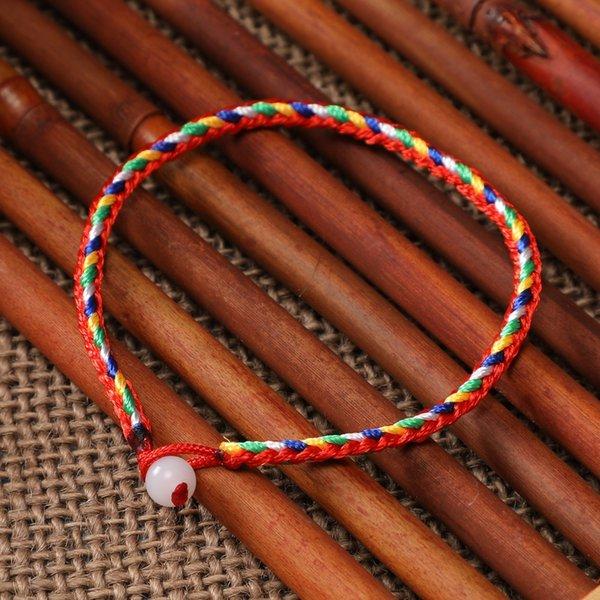 5мм Одно из бисера Красочный Rope