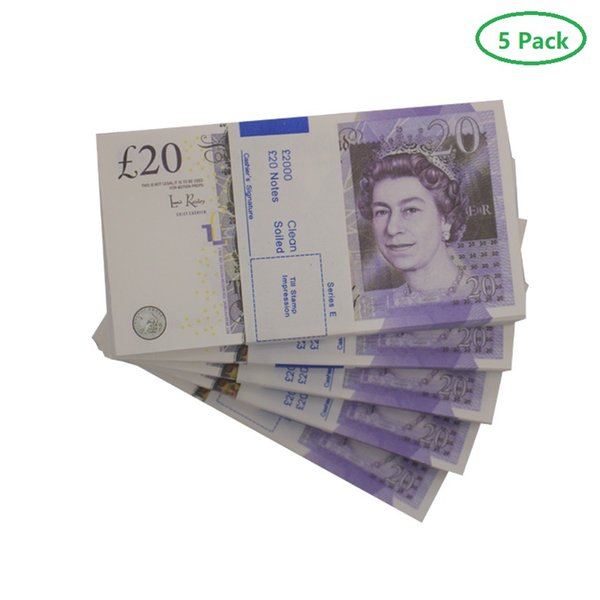 5Pack 20 Note Old (500pcs)