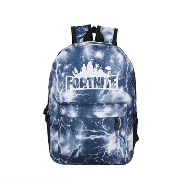 top popular New Arrive Fortnite School Bags Shoulder Bag Custom Large-Volume Game School Bag Fashion Full Printing Personalized Student School Bag Free 2020