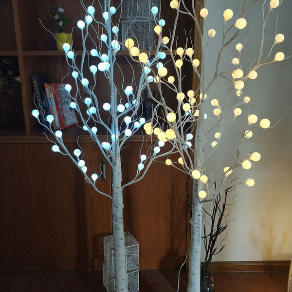 best selling 2021 New 45cm 60cm Led Globe Ball Branch Light Christmas Decorations Table Night for Home Holiday Wedding Decoration Indoor Outdoor 8079