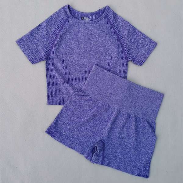 Purple 2 Pcs Set