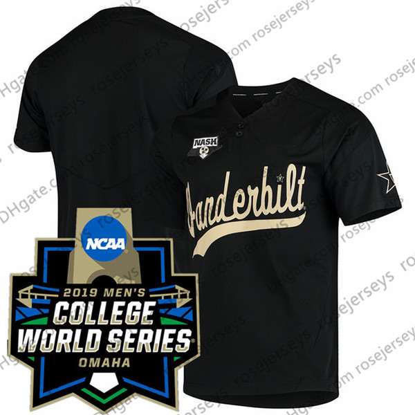Black with 2019 CWS Patch