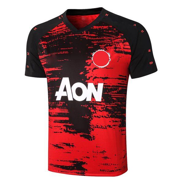 C581# 2021 Short sleeve Red Black Top