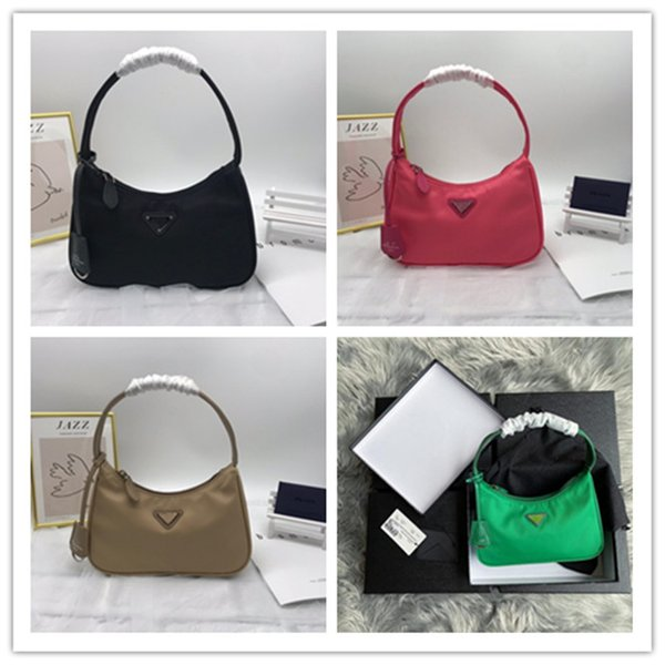 top popular luxurys designers bags tote Nylon Shoulder Bag Luxury Designer Women's Shoulder Bag Crossbody Bags Handbag free shipping 2020