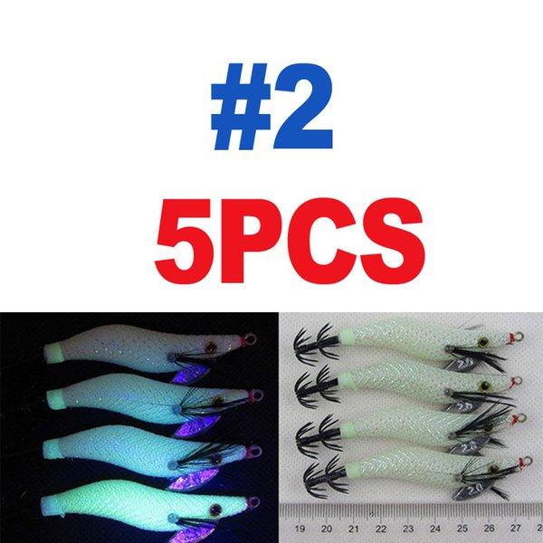 5pcs Size 2