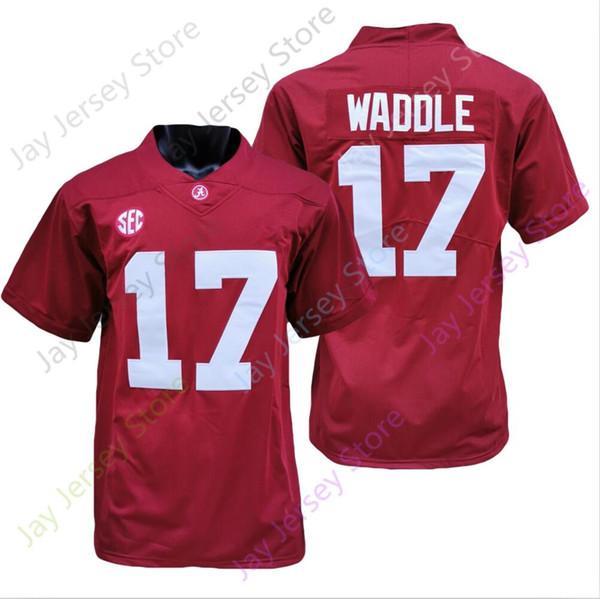 17 Jaylen Waddle Red