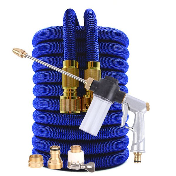 16ft-Blue Hose with Gun