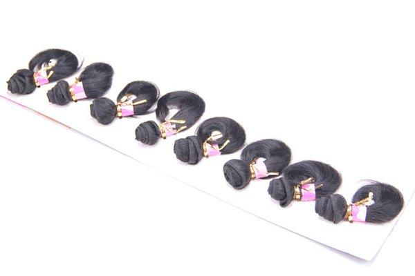 8 pulgadas de cabello humano # 2