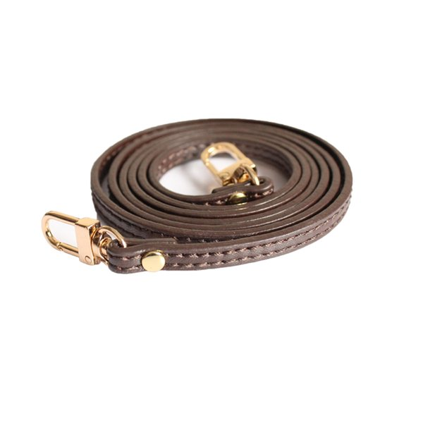 top popular Genuine Leather Bag Strap 0.7*120CM Bag Accessories For Luxury Bag Crossbody strap replacement 2021
