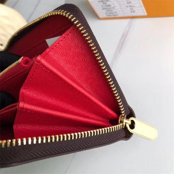 Kaffee Plaid mit roten Innenfutter