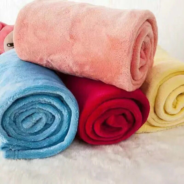 best selling Low Price Sale Inventory Flannel Blanket Siesta Air Conditioning Coral Fleece Giveaway Blanket Gift Blanket Customized Wholesale YL0188