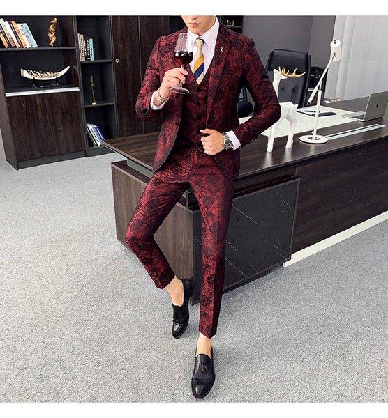 Khaki Plaid Suits