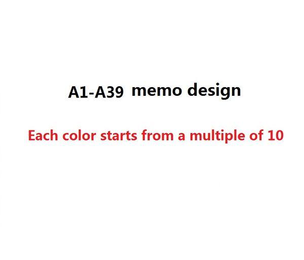 A1-A39 not tasarım