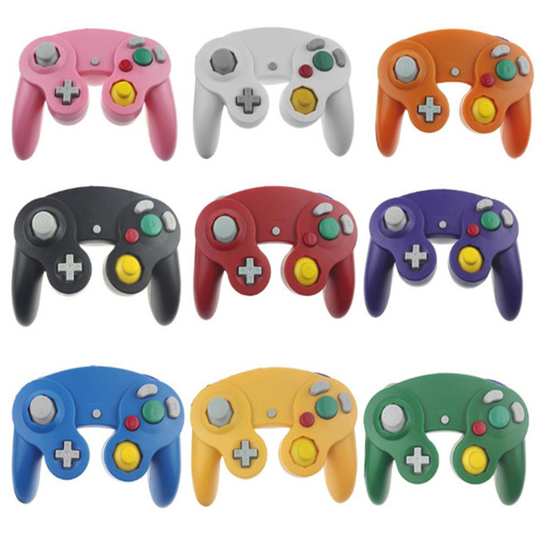 top popular Wired Gamecube Joystick NGC Gaming Controller For Nintendo Console   Wii game cube Gamepad NGC with Retail Box 2020