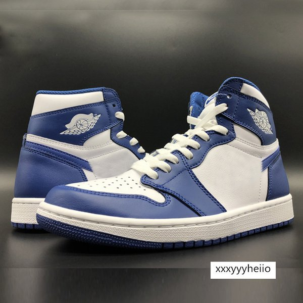 top popular Mens 1 1s Jumpman Basketball Shoes White Chicago UNC Chicago Royal Banned Court Men Sports Womens Designer Sneakers Trainers Chaussures 2021