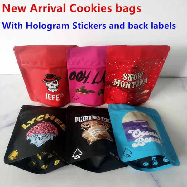 3 개 새로운 도착 쿠키 가방