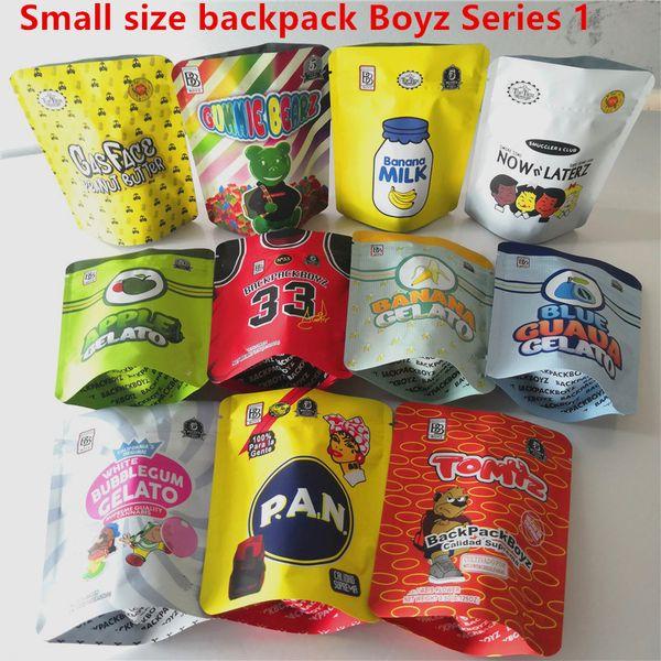 top popular Jokes up backpack boyz 3.5g Mylar Bags Tomyz Merzcato BACKPACK BOYZ 33 GAS FACE Lechera peanut butter Mintz 420 Dry Herb Flower Packaging 2021
