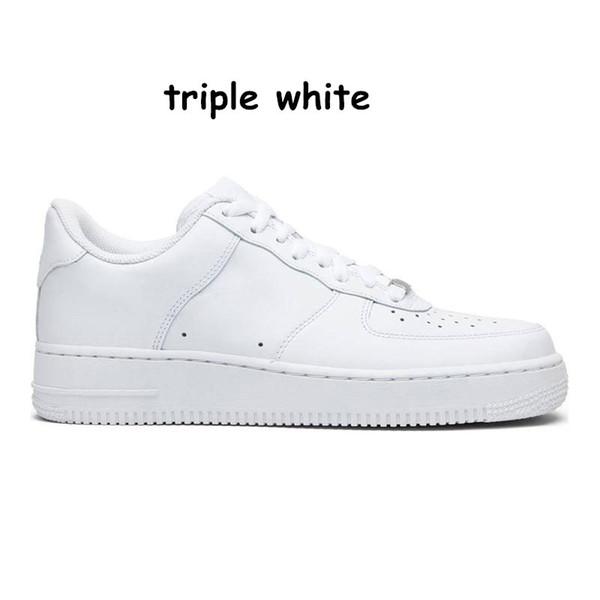 D26 Triple White 36-45