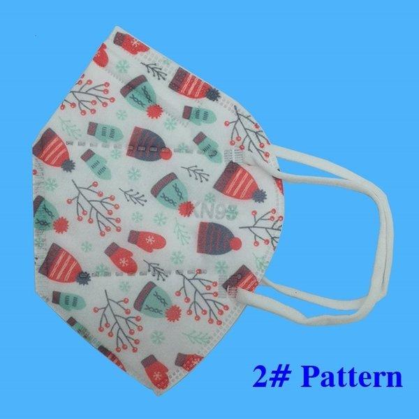 2 # Weihnachtsmaske