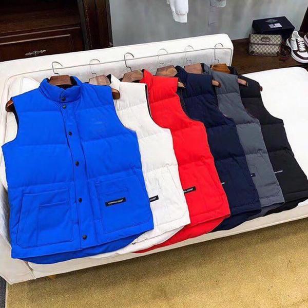 top popular 2020 Mens Vests Down Vest Parkas New Mens Down Coat Winter Boys Sleeveless Jackets Womens Down Coat Active New Clothes 2020