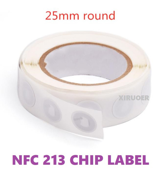 top popular 1000Pcs NFC Business Sticker NFC 213 Chip 144bytes NFC social Networking Tag 13.56mhz RFID Label For Payment System Access Control 2021