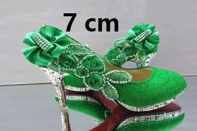 Verde 7 cm.