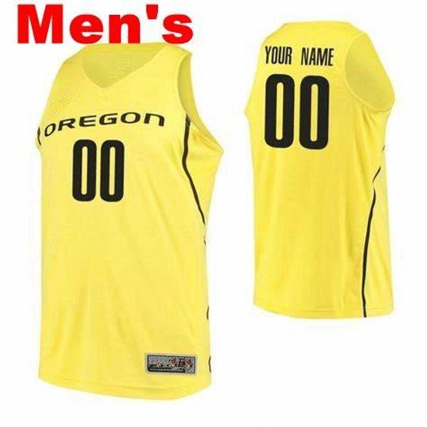 Hommes jaune noir