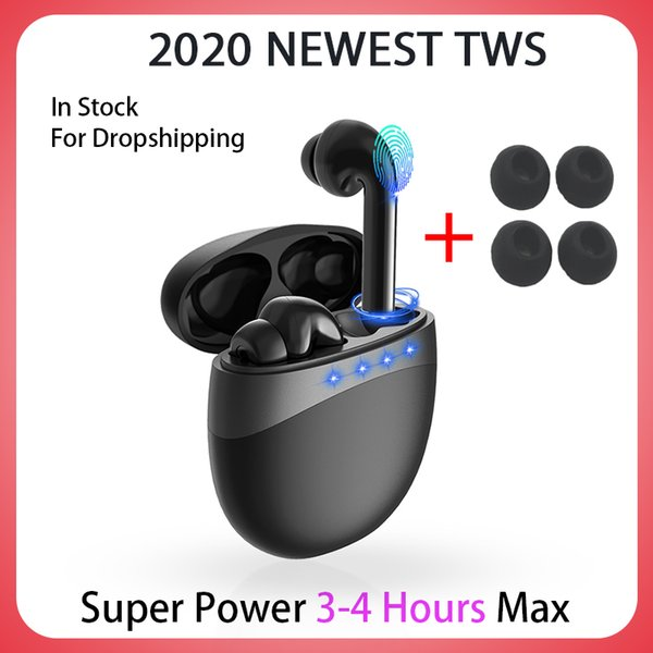 top popular 2020 NEWEST TWS Blutooth Wireless Headphones Mini Bass Headset Sports Earbuds fone de ouvido audifonos bluetooth inalambrico for iphone 12 2020