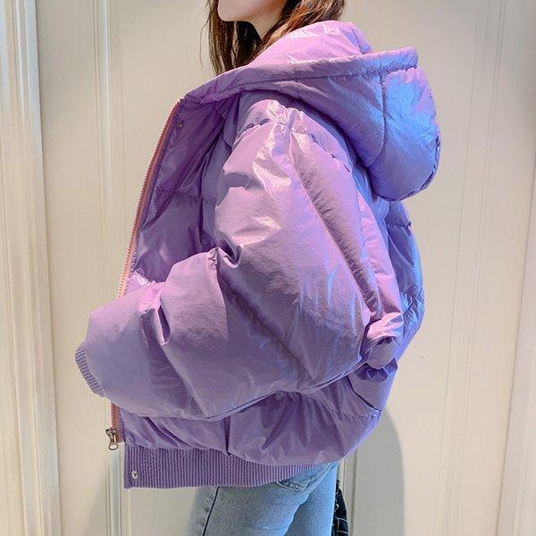 Фиолетовые ветровки-S