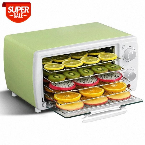 top popular Food Dehydrator Electric Dried Fruit Machine Vegetable Dryer Beef Snack Jerky Dehydrator Meat Drying Machine Stainless Steel220 #Fj1D 2021