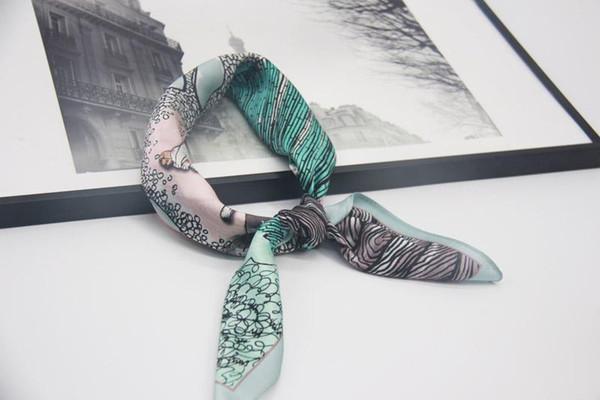 SS2-07 silk scarf CHINA One Size