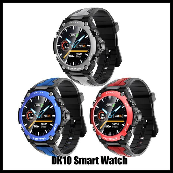 top popular DK10 smart watch Bluetooth Music Smart Altitude Diving Watch IP68 Waterproof Heart Rate Fitness Sports Watch Weather Three proofing compass 2021