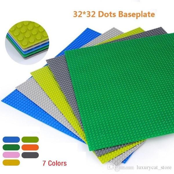 best selling Dots Base Building Blocks Baseplate DIY Plastic Plate Base Classic Brick Accessories Kids Toy.##KK