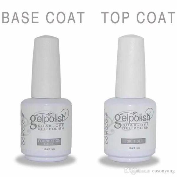 top popular 132pcs High Quality DOMCCO Soak Off Led UV Gel Nail Polish Long Lasting 2021
