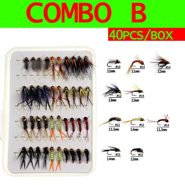 Set b 40pc Flies