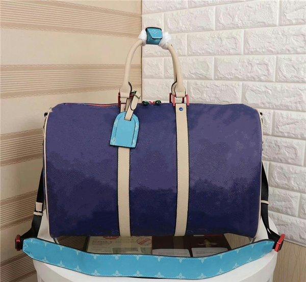 Темно-синий холст сумка