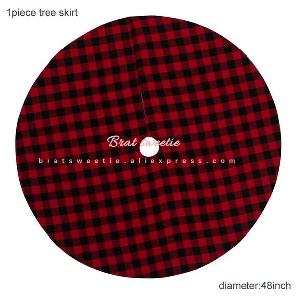 120cm Redplaid Skirt