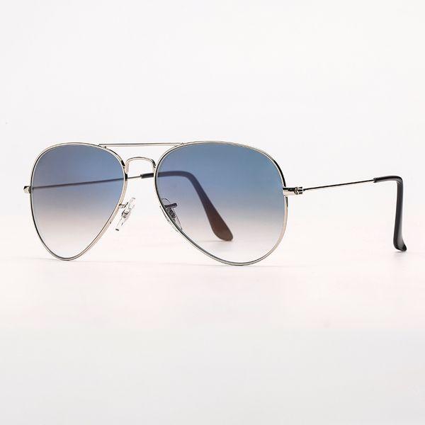 0033F серебро / голубой градиент