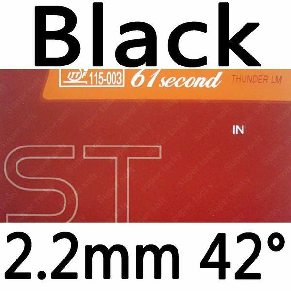 Black 2.2mm H42