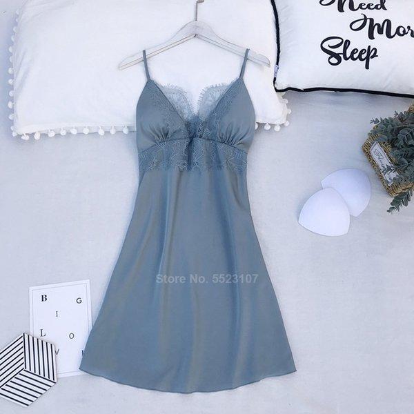 Vestito Blu-XL