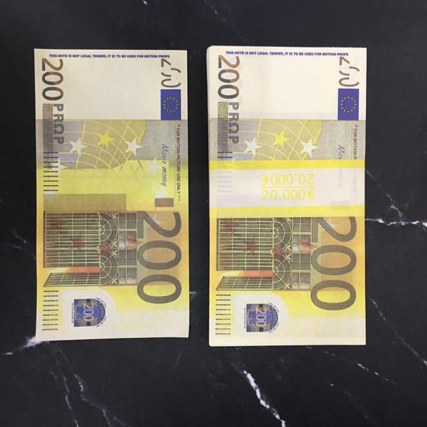 200 euos (100pcs)