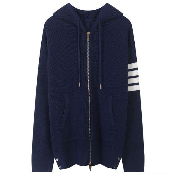Proportional Zipper Navy Blue