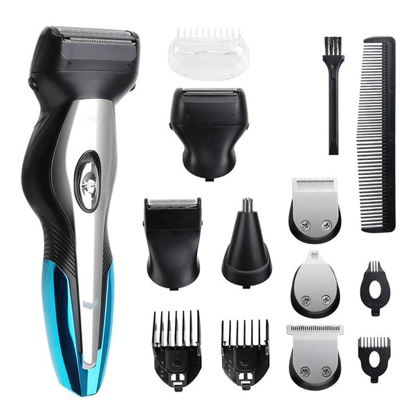 top popular Hair Clipper Beard Trimmer,All-In-One Haircut and Grooming Kit, Mustache Trimmer Body Trimmer and Shaver for Men, Precision Groomer for Hair 2021