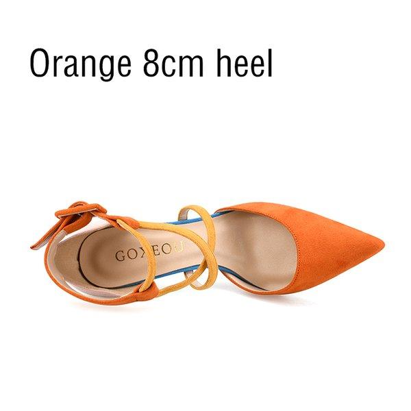 Talon orange 8cm